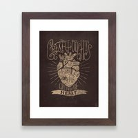 Great Thoughts  Framed Art Print