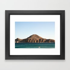 Cabo Afternoon Framed Art Print