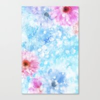 Canvas Print featuring LIKE A FLOWER XIII by Ylenia Pizzetti