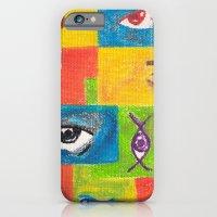 iPhone & iPod Case featuring Feel by Luciana Raducanu