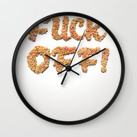 Hundreds and thousands of F_O! Wall Clock