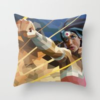 WonderWoman Throw Pillow