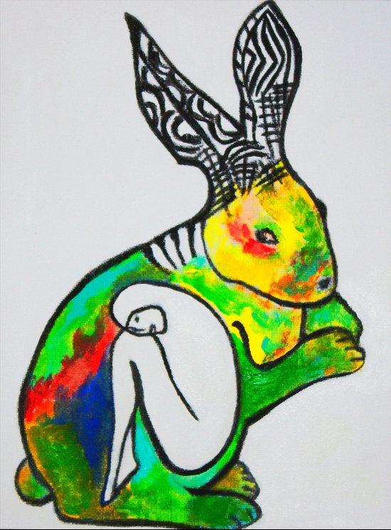 Rabbit's Hive Art Print
