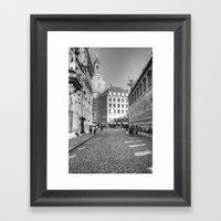 Dresdener Ansichten Framed Art Print
