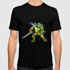 Katana Turtle Black SMALL Mens Fitted Tee