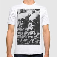 Catacombes Mens Fitted Tee Ash Grey SMALL