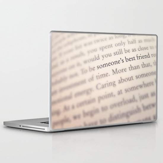 Someone's Best Friend Laptop & iPad Skin