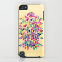 iPod Touch Cases featuring Kick of Freshness by Fimbis