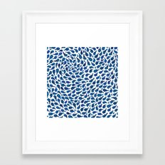 Blue Whales Framed Art Print