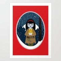 The Little Match Girl Art Print