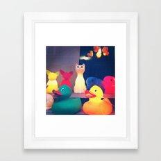 Ducky Framed Art Print
