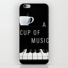 Piano & Coffee iPhone & iPod Skin