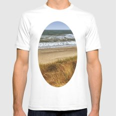 A Day at Hatteras Mens Fitted Tee SMALL White