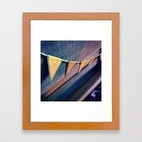 IndiePennant Framed Art Print