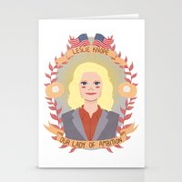 Leslie Knope Stationery Cards