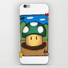 1Up Super Mario iPhone & iPod Skin