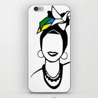 Brasil iPhone & iPod Skin