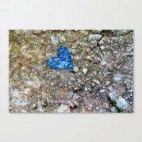 A Little Love Canvas Print