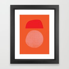 BOULDER Framed Art Print