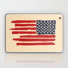 Red And Blue And White Laptop & iPad Skin