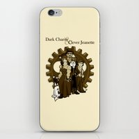Dark Charity & Clever Jeanette iPhone & iPod Skin