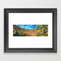 Gila Meadow Framed Art Print
