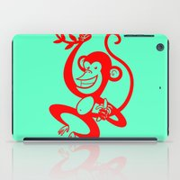 Red Monkey iPad Case