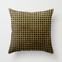 Royal Black - Textured P… Throw Pillow
