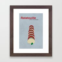 Ratatouille Framed Art Print
