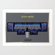 Star wars_ Directed by George Lucas Art Print