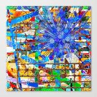 Ana (Goldberg Variations #1) Canvas Print