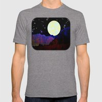 Valley of the Moon Mens Fitted Tee Tri-Grey SMALL