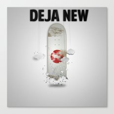 Deja New Canvas Print