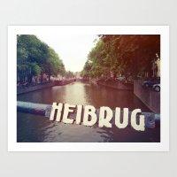 Heibrug Art Print