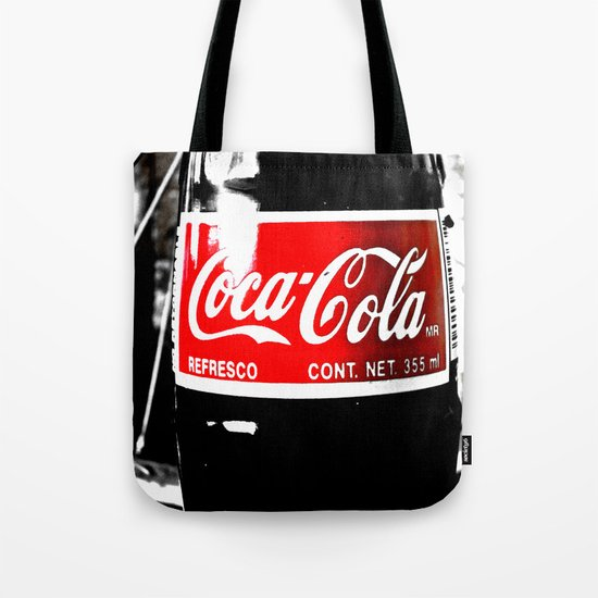 Coca-Cola Nostalgia Tote Bag