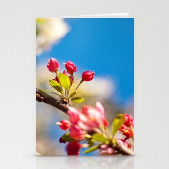 Coming Out To Bloom Stationery Card