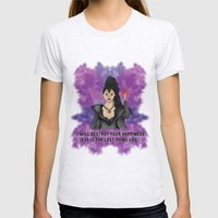 OUAT - Something Evil This Way Comes Womens Fitted Tee Ash Grey SMALL