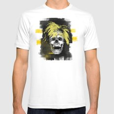 Andy POSTportrait Mens Fitted Tee White SMALL