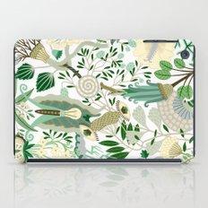Green Flower Fantasy  iPad Case