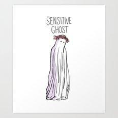 Sensitive Ghost Art Print