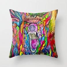 Guardian of Owl Farm Throw Pillow