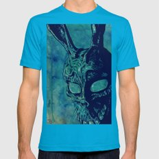 Donnie Darko Mens Fitted Tee Teal SMALL
