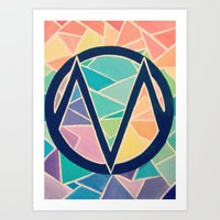 The Maine Art Print