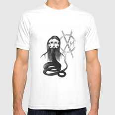 Envy Queen Mens Fitted Tee White SMALL