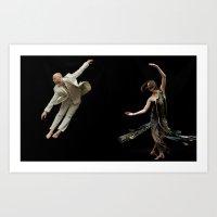 Bodyvox Duo Two Art Print