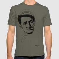 Woody Guthrie Mens Fitted Tee Lieutenant SMALL