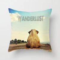 Wanderlust Imagined! Throw Pillow