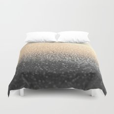 GOLD BLACK Duvet Cover
