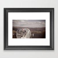 You're Not The Same... Framed Art Print