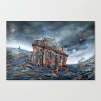 Landunter Canvas Print